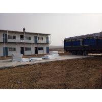 莒南专业搭建二层活动板房-彩钢板房二层-18654356200