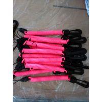 厂家现货塑料精品塑胶弹簧绳,失手绳,防丢钥匙扣手机绳