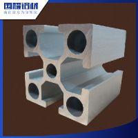 东莞国耀铝材厂家批发流水线输送带铝合金型材4040阳极氧化6063铝合金、可做流水线支架用