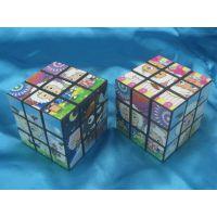 供应【魔方厂家】广告魔方 卡通魔方 5.5公分喜洋洋魔方儿童玩具