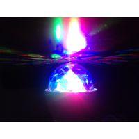 小水晶魔球、LED魔球、魔球灯、七彩灯、旋转彩灯 LED灯