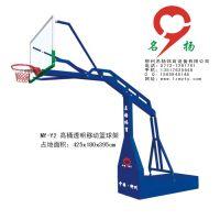 都安大化巴马比赛专用液压移动篮球架-名扬体育