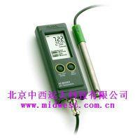 便携式pH/温度测定仪 型号:H5HI991001D1