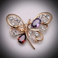 高档奢华品牌饰品 奥地利水晶胸针-跨世纪的找寻4611