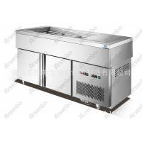 上保鲜下冷冻冷藏柜 冻汤池 甜品店热汤池 上冷藏下冷冻 低温保存