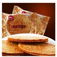 新品 粗粮美味 健康可口 民族村芝麻瓦片薄饼 香香脆脆 2.5kg/箱