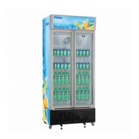 Haier/海尔SC-450G双门立式商用冷藏柜 双门饮料展示柜