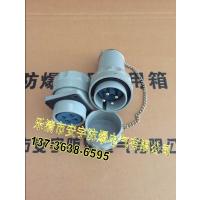 电缆连接焊接式GTZ-100A-YT/GZ-4J/4K防爆三相四极插头插座连接器