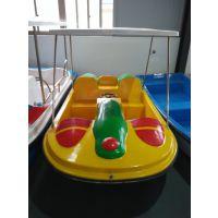 公园脚踏游船 情侣玻璃钢脚踏船现货促销