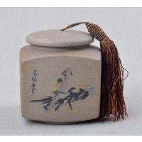 茶叶包装罐,青花瓷茶叶包装罐图片