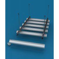?铝合金铝圆管天花吊顶  木纹圆管铝天花厂家价格  吊顶圆管铝天花厂家