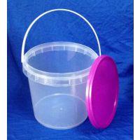 广州厂家热销2升透明桶 2Kg容量 高透明 压盖密封 100个起订 现货(Hy-02)
