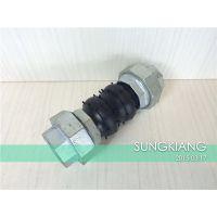 上海螺纹双球橡胶软接头 KST-L型DN40上海螺纹双球橡胶软接头品质保证