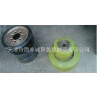 叉车轮聚氨酯包胶,电动叉车驱动轮包胶,磨损叉车轮翻新包胶