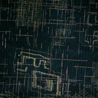 植绒雕印E系列彩色抽象线条几何印花纬编涤纶针织植绒短毛超柔绒