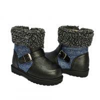 2015冬款棉靴  时尚温暖儿童棉靴   日本原单   厂家直销