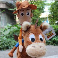 外贸玩具厂家 玩具总动员3 TOY3毛绒公仔 牛仔警长胡迪毛绒玩具