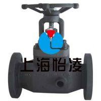 BJ41W锻钢保温截止阀-上海怡凌锻钢保温截止阀厂家