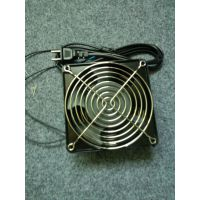 12cm 220V 12038含油带双网带线 网络机柜工控机箱工业风扇散热器现货直销