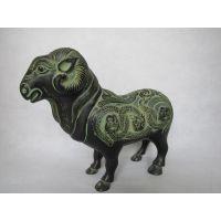 羊 仿古青铜器 工艺礼品摆件 十二生肖 婚庆影视道具 广发青铜器