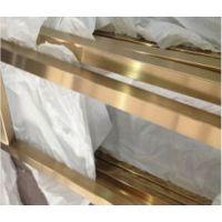 拉丝钛金不锈钢门框料,201拉丝钛金不锈钢装饰管,佛山彩色管生产厂家