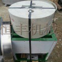 石磨-电动石磨芝麻酱机 高效石磨面粉机 电动石磨香油机