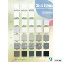 Solid Color Suede Finish (60) HPL Texture Matte Surface High Pressure Flame Resistant Compact Laminate Sheet
