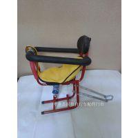 供应儿童高档斜弹簧围栏座椅 宝宝前置电动车座椅