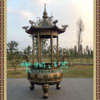 优质香炉厂家,铸造陵园大型圆形铁香炉,寺庙铸铁香炉。