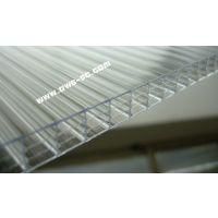 专业供应PC阳光板8mm中空防雾滴阳光板连栋温室大棚用PC板