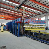 玻璃钢蜂窝板层压机生产线设备生产厂青岛国森机械