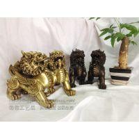 锦铃厂家批发铜貔貅摆件 避邪貔貅 铜像  铜工艺品铸造