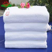 毛巾厂家直销纯棉酒店宾馆浴巾21线70*140cm400g白色纯棉浴巾
