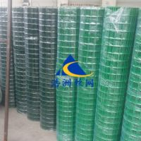 浩洲生产养殖包塑铁丝围网|绿色荷兰网护栏铁丝网|散养鸡围栏圈山防护
