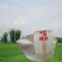 DN100mm 尼龙水带 可用于农业灌溉绞盘喷灌机配套 禹泽PVC衬里 厂家直销