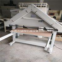 键辉拉丝机 环保型台式三角砂带拉丝机