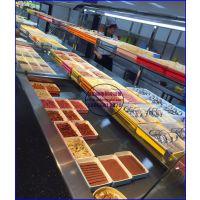 火锅店不锈钢喷雾菜架,宜昌自选火锅菜品展示柜,冷藏冷冻自助餐冰柜