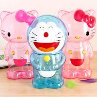 储蓄罐透明塑料超大号hello kitty儿童存钱罐创意生日礼物