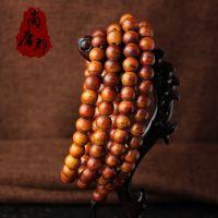 【厂家直销】西藏牦牛骨圆珠108佛珠手链念珠