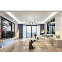 现代简约风格-100平米小户型装修-三室两厅-【新城新世界】