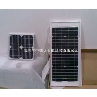 中德太阳能滴胶板,家用发电系统,zd60w18v单晶电池板,太阳能光伏组件