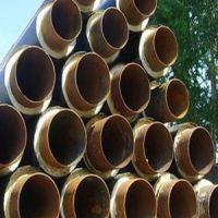 河北廊坊广安化工生产 一步法高密度蒸汽直埋外护管 聚氨酯直埋保温管生产线