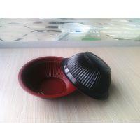 食品级600ml一次性条形白色塑料碗/扣肉碗 可印logo
