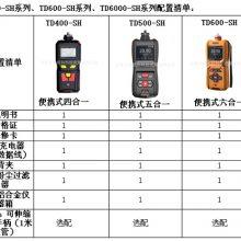 泵吸式氟气快速分析仪|便携式F2气体检测仪|天地首和各种气体测定仪|氟气报警器TD600-SH-F2