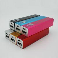原装正品方移动电源  2200毫安足量容 方管充电宝 powerbank