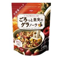 日本日清Cisco'sGooTa综合水果坚果燕麦片营养早餐600g