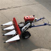 割幅宽水稻收割机 高效自走式割晒机 手推式收割机