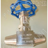J61Y-160P/R散热型高温高压对焊接式针型阀