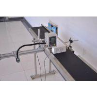 塑料管材供水管道手持喷码机励硕PPR管材PVC穿线管手持喷码机