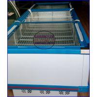 自助火锅冷冻柜1.6米价格 卧式直冷玻璃门岛柜 长沙菜品自选展示冰柜